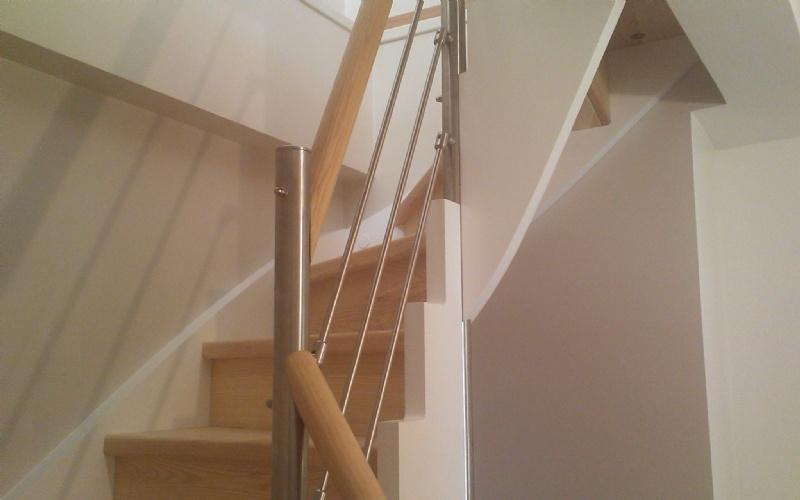 escalier quart tournant petite tremie