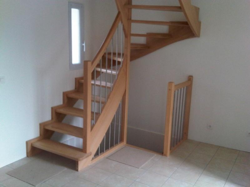 Double quart balustres verticaux - Escalier double quart tournant ...