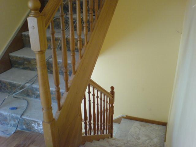 rampe pour escalier beton