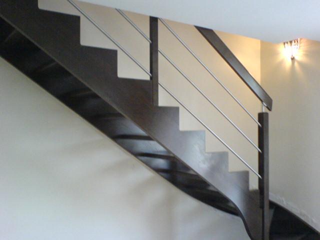 Escalier Peint En Noir Et Blanc ~ DootDadoo.com = Idées de ...