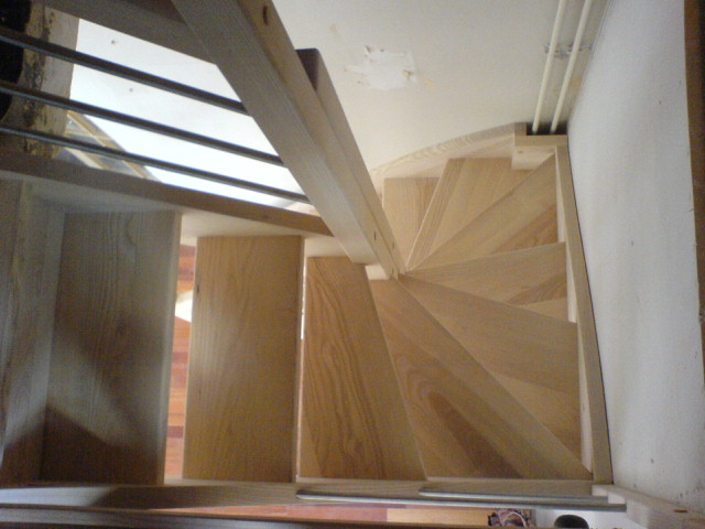 escalier helicoidal petite tremie