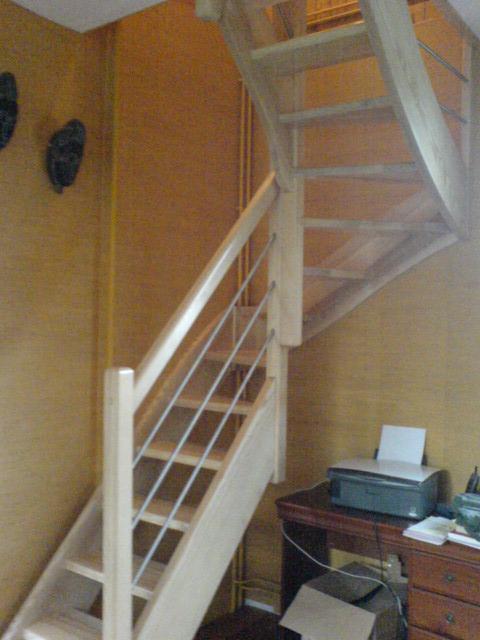 escalier droit petite tremie