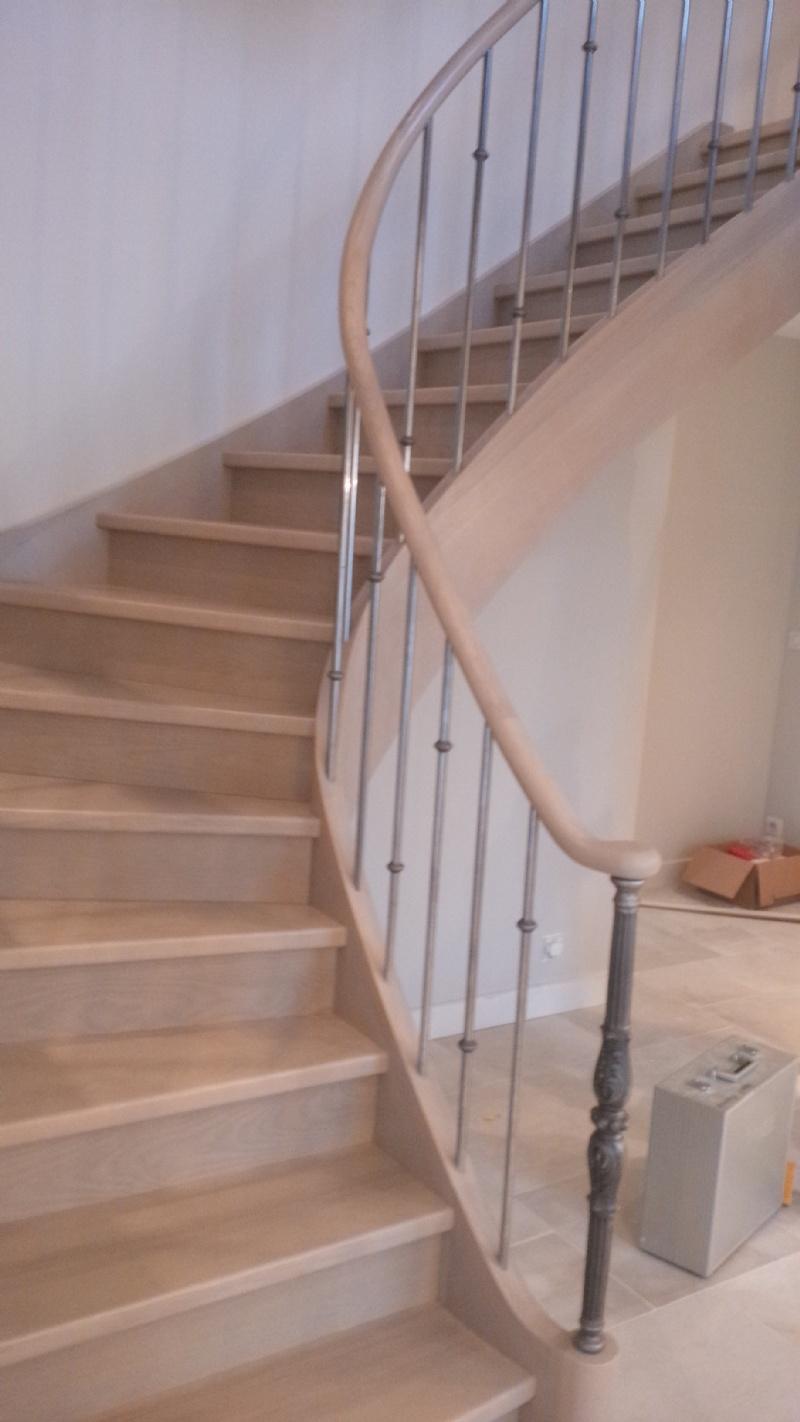 escalier d billarde a la francaise. Black Bedroom Furniture Sets. Home Design Ideas