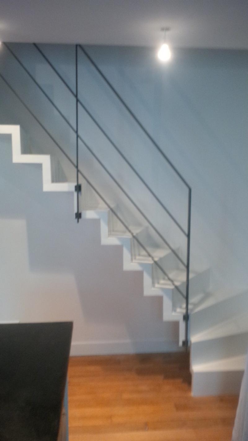 Garde Corps Haut Escalier escaliers deparis 77 - escaliers en bois sur mesure ile de